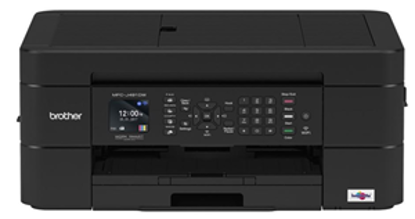 Picture of Brother MFC-J491DW 12ipm A4 Inkjet Multi Function Printer